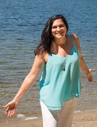 Washington, New Hampshire ñ August 23, 2016: Portraits of Maria Yunis, life coach. Photo: Joanne Ciccarello